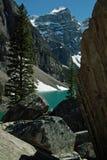 Parco nazionale del lago Morraine, Banff, Alberta, Canada. fotografia stock
