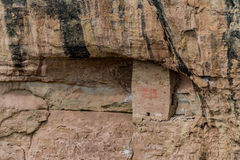 Parco nazionale del verde di MESA - abitazione di scogliera nella lan della montagna del deserto Fotografia Stock