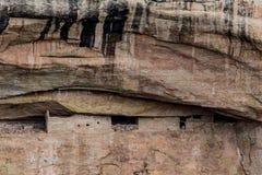 Parco nazionale del verde di MESA - abitazione di scogliera nella lan della montagna del deserto Immagine Stock Libera da Diritti
