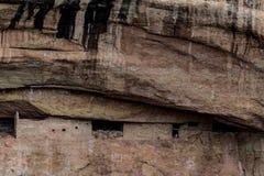 Parco nazionale del verde di MESA - abitazione di scogliera nella lan della montagna del deserto Immagine Stock