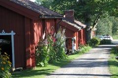 Parco nazionale del villaggio di Fagervik, Finlandia Immagini Stock