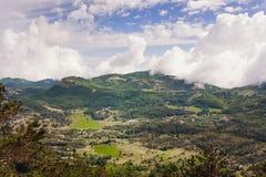 Parco nazionale dell'en del  di LovÑ montenegro Immagini Stock Libere da Diritti