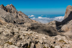Parco nazionale dell'europa di Picos da Fotografie Stock