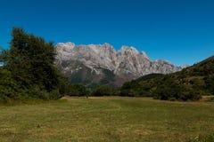 Parco nazionale dell'europa di Picos da Immagine Stock