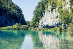 Parco nazionale dell'Unesco in Croazia immagine stock libera da diritti