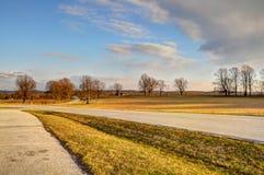 Parco nazionale della forgia della valle, PA fotografia stock