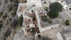 Parco nazionale della fortezza di del ` di Yehi stock footage