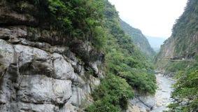 Parco nazionale della gola di Hualien Taroko Immagini Stock Libere da Diritti