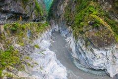 Parco nazionale della gola di Taroko immagini stock libere da diritti