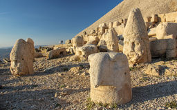 Parco nazionale della montagna di Nemrut, Adıyaman, Turchia Fotografie Stock