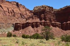 Parco nazionale della scogliera del Campidoglio Immagine Stock Libera da Diritti