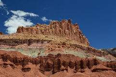 Parco nazionale della scogliera del Campidoglio Fotografia Stock