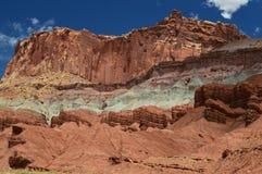 Parco nazionale della scogliera del Campidoglio Fotografia Stock Libera da Diritti