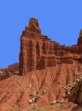 Parco nazionale della scogliera del Campidoglio della roccia del camino Immagini Stock