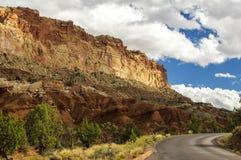 Parco nazionale della scogliera del Campidoglio, Utah Fotografia Stock Libera da Diritti