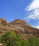 Parco nazionale della scogliera del Cupola-Campidoglio del Campidoglio Fotografie Stock Libere da Diritti