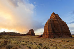 Parco nazionale della scogliera di Campidoglio Immagini Stock