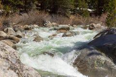Parco nazionale della sequoia - forcella di marmo del fiume di Kaweah immagine stock libera da diritti