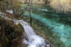 Parco nazionale della valle del Jiuzhaigou Immagini Stock Libere da Diritti