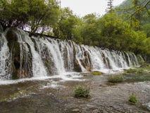 Parco nazionale della valle del Jiuzhaigou in Cina Fotografia Stock Libera da Diritti