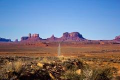 Parco nazionale della valle del monumento, Arizona Immagine Stock Libera da Diritti