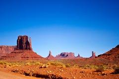Parco nazionale della valle del monumento, Arizona Fotografia Stock Libera da Diritti