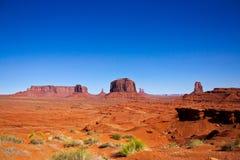 Parco nazionale della valle del monumento, Arizona Fotografia Stock