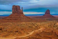 Parco nazionale della valle del monumento immagine stock