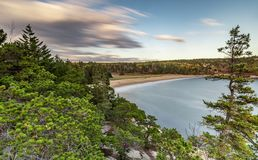 Parco nazionale di acadia in autunno immagine stock