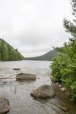 Parco nazionale di acadia in Maine Fotografie Stock Libere da Diritti