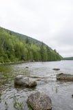 Parco nazionale di acadia in Maine Fotografie Stock