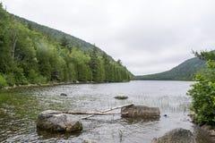 Parco nazionale di acadia in Maine fotografia stock
