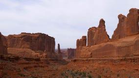 Parco nazionale di arché nell'Utah - punto di riferimento famoso stock footage