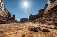 Parco nazionale di arché, U Fotografia Stock