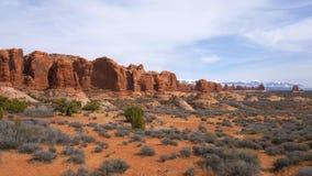 Parco nazionale di arch? nell'Utah - punto di riferimento famoso stock footage