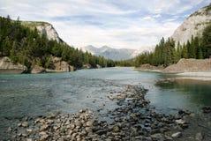 Parco nazionale di Banff Immagini Stock