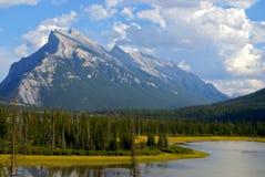 Parco nazionale di Banff Fotografia Stock Libera da Diritti