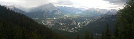 Parco nazionale di Banff Fotografia Stock