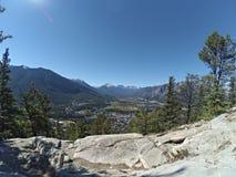 Parco nazionale di Banff Fotografie Stock Libere da Diritti