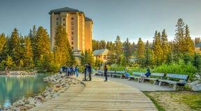 Parco nazionale di Banff dell'hotel di Fairfield Fotografie Stock