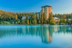 Parco nazionale di Banff dell'hotel di Fairfield Immagine Stock