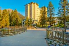 Parco nazionale di Banff dell'hotel di Fairfield Fotografia Stock