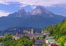 Parco nazionale di Berchtesgaden in alpi Fotografia Stock