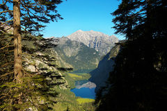 Parco nazionale di Berchtesgaden, Germania Fotografia Stock Libera da Diritti