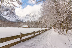 Parco nazionale di Berchtesgadener, Germania Fotografia Stock