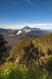 Parco nazionale di Bromo Tengger Semeru in East Java, Indonesi immagini stock libere da diritti