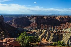 Parco nazionale di Canyonlands fotografia stock