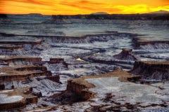 Parco nazionale di Canyonlands immagine stock libera da diritti