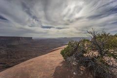 Parco nazionale di Canyonlands Fotografie Stock Libere da Diritti