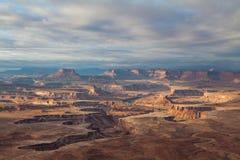 Parco nazionale di Canyonlands ad alba Fotografia Stock Libera da Diritti